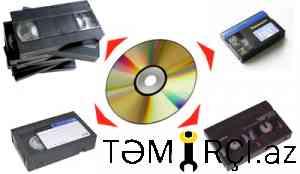 video kassetdən diskə  köçürülməsi