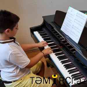 Piano dərsləri
