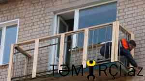 Balkon artirilmasi ve temiri