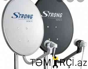 Kameraların quraşdırılması Krosna Antena ustası_2