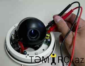 Kamera sisteminin qurulması