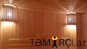 Sauna tikintisi, türk hamamı, par otağı.