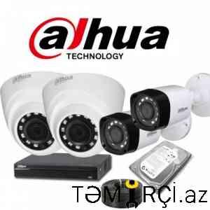 Müşahidə kameralarının quraşdırılması və satışı