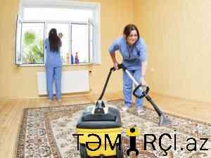 Temizlik Xidmeti evlerde ve ofislerde