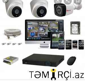 Kameraların quraşdırılması Krosna Antena ustası_0
