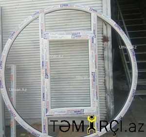 Plastik qapi pencere