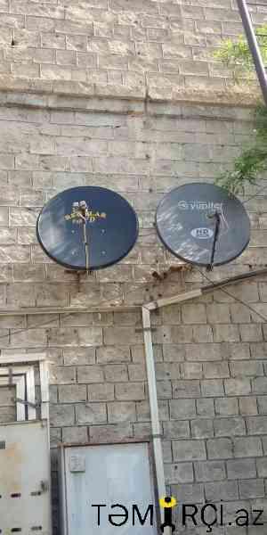 Peyk antena qurasdirilmasi
