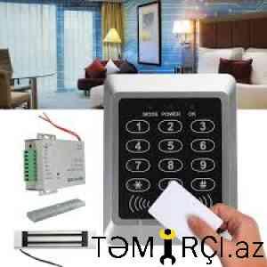 Access controllların quraşdırılmısı