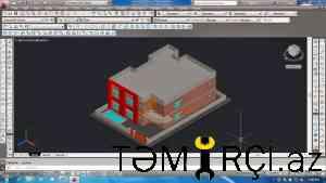 Auto CAD  Proqramından hazirliqlar